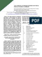 Analise Dinamica Da Conexao Ao Sistema Eletrico de Usinas Eolicas Usando o Atpdraw