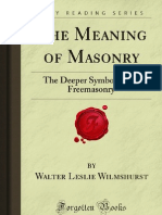 Walter Leslie Wilmshurst - The Meaning of Masonry