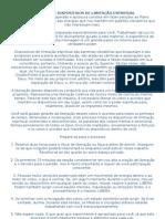 LIBERAÇÃO DE DISPOSITIVOS DE LIMITAÇÃO ESPIRITUAL