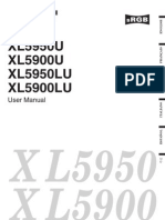 XL5900 User Manual