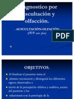 Diagnostico Por Auscultacion y Olfaccion