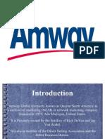 Marketing Strategies of Amway