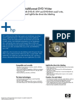 HP 1040(E) DVD Drive Manual - English