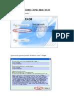 Instrucciones Reset Tx400