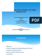Design and Development of Prbs Generator