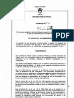 Decreto 2730 Gas Natural Colombia