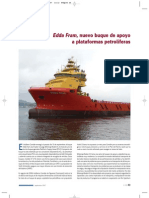 Buque de Apoyo a Offshore Platforms