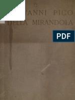 15822205 Giovanni Pico Della his Life by His Nephew Giovanni Francesco Pico His Interpretation of Salms XVI His Letters