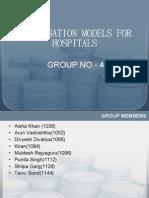Group-4compensation Models for Hospitals