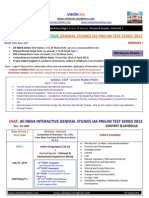 Csat m1 All India General Studies Pre Test Series 2012 25 Mock Tests Current Affairs Notes