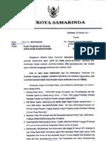 Perintah Penghentian Aktifitas Jemaat Ahmadiyah Samarinda #1