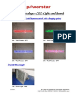 Powerstar LED Lights and Boards Catalogue - July 2011