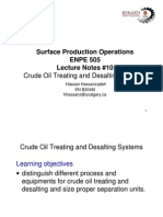 Crude Treating & Desalting