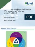 Smart Fusion Micrium Webinar
