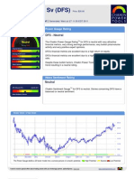 Stock Research Report for DFS as of 7/27/11 - Chaikin Power Tools