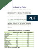 12500044750 Tender Coconut Water
