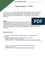 55 Junior SQL Server DBA Interview Questions