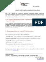 Services Marketing d'une Télésecretaire  indépendante  | Optim Office