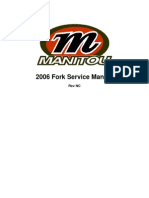 2006 Manitou Fork Service Manual