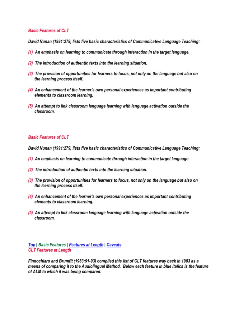 Basic features of clt sociolinguistics linguistics fandeluxe Choice Image