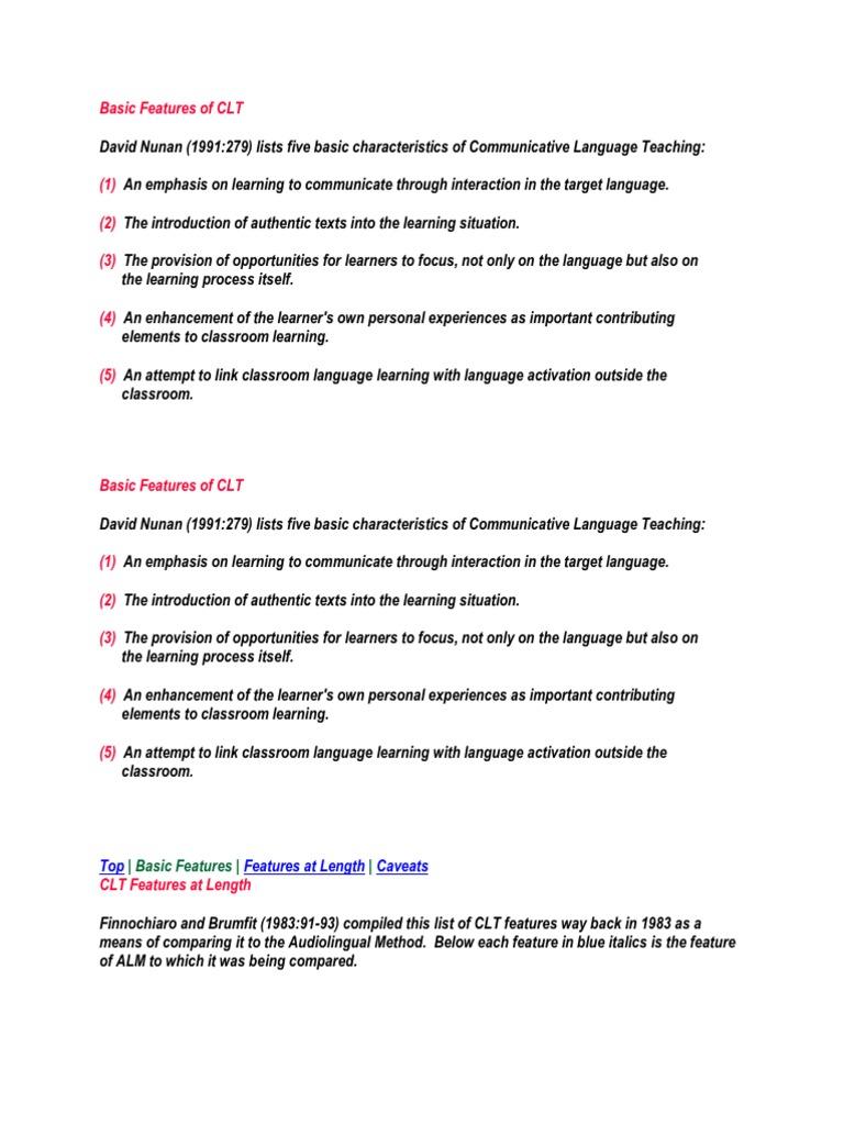 Basic features of clt sociolinguistics linguistics fandeluxe Image collections