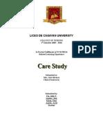 Care Study Osteomyelitis