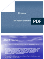 The Nature of Drama