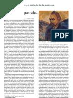 Jordi Terré - Nietzsche y la gran salud  (Revista Jano. Medicina y Humanidades, vol. LXI, nº 1401, 4 octubre del 2001)