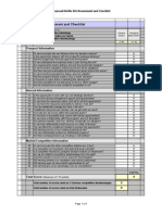 bid-no bid assessment and checklist form