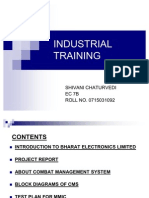 Industrial Training Projct Reporton Mmi