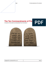 10 Commandments Pre Contract 2011