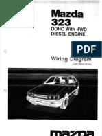 Mazda 323 Turbo BF2 - Elektrik