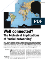 Biological consequence of Social Networking