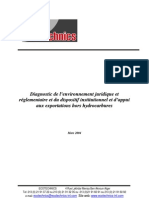 Diagnostic de La Rglementation Des Export at Ions Hors Hydrocarbures (1)