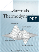 Materials Thermodynamics Wiley Series on Processing of Engineering Materials