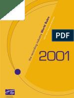 World Sales 2001