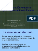 Observación electoral