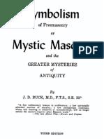 Buck - The Symbolism of Freemasonry - Or Mystic Masonry