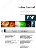 Sediaan Inventory)