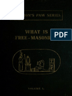 Norman Frederick de Clifford - What is Free-Masonry