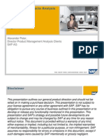 SAP Business Objects Analysis