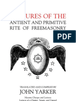 John Yarker - Lectures of the Antient and Primitive Rite of Freemasonry