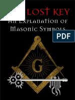 Prentiss Tucker - The Lost Key - An Explanation of Masonic Symbols