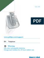 Philips Cd2451 Phone With Answering Machine