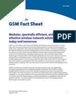 Gsm Factsheet