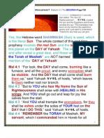 The DAY of YAHUAH Malaki-Luke