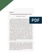 406_V11N3 Fall 94 - Al Masseri - The Imperialist Epistimological Vision