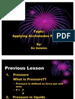 3.4 Applying des Principle