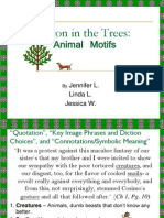 Baron in the Trees PowerPoint (Animal Motifs)