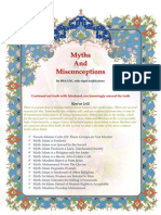 Refutation Of The Missionaries' Myths And Misconceptions Against Islam By MSA